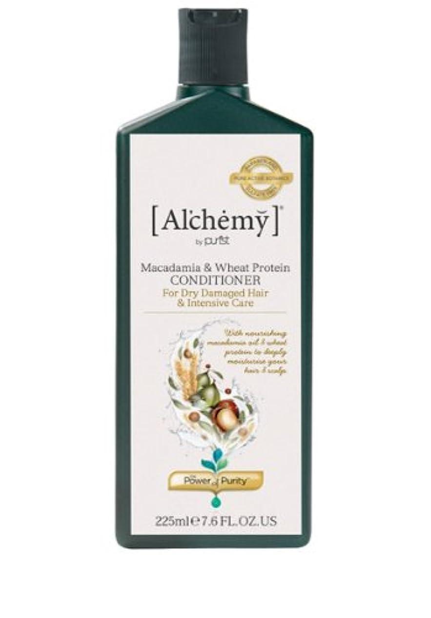 直接シリンダー最小【Al'chemy(alchemy)】アルケミー マカダミア&ホイート(小麦) コンディショナー(Macadamia & Wheat Protein Conditioner)(ドライ髪用)225ml