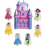 Hallmark(ホールマーク)Disney Princess Candle and Cake Topper Set 7ct おもちゃ[並行輸入品]