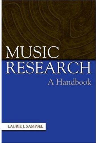 Download Music Research: A Handbook 0195171195