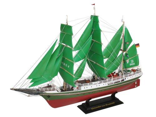 ドイツ・レベル プラモデル 帆船モデル 1/150 アレキサンダー・フンボルト
