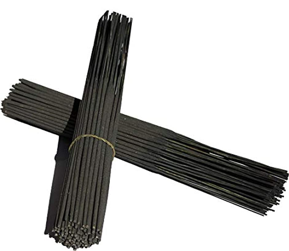 成長ナイロン回答無香Incense SticksブラックColor Sticks 11
