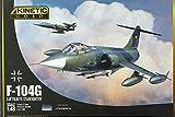 キネティック 1/48 ドイツ空軍 F-104G スターファイター プラモデル KNE48083