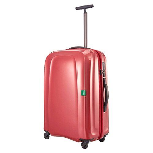 LOJEL ロジェール | LUMO-M ハードキャリー【62cm】 中型スーツケース バーガンディー (旅行用品)