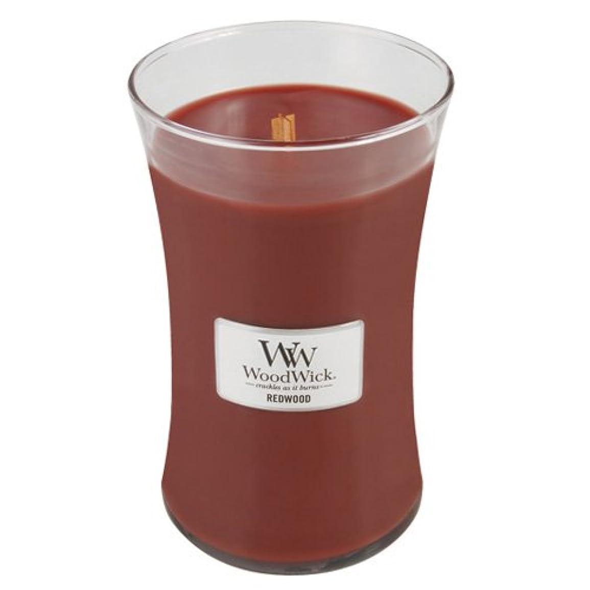収益かすかな冒険者(Large Jar, Red) - Woodwick Jar Candle (Large)