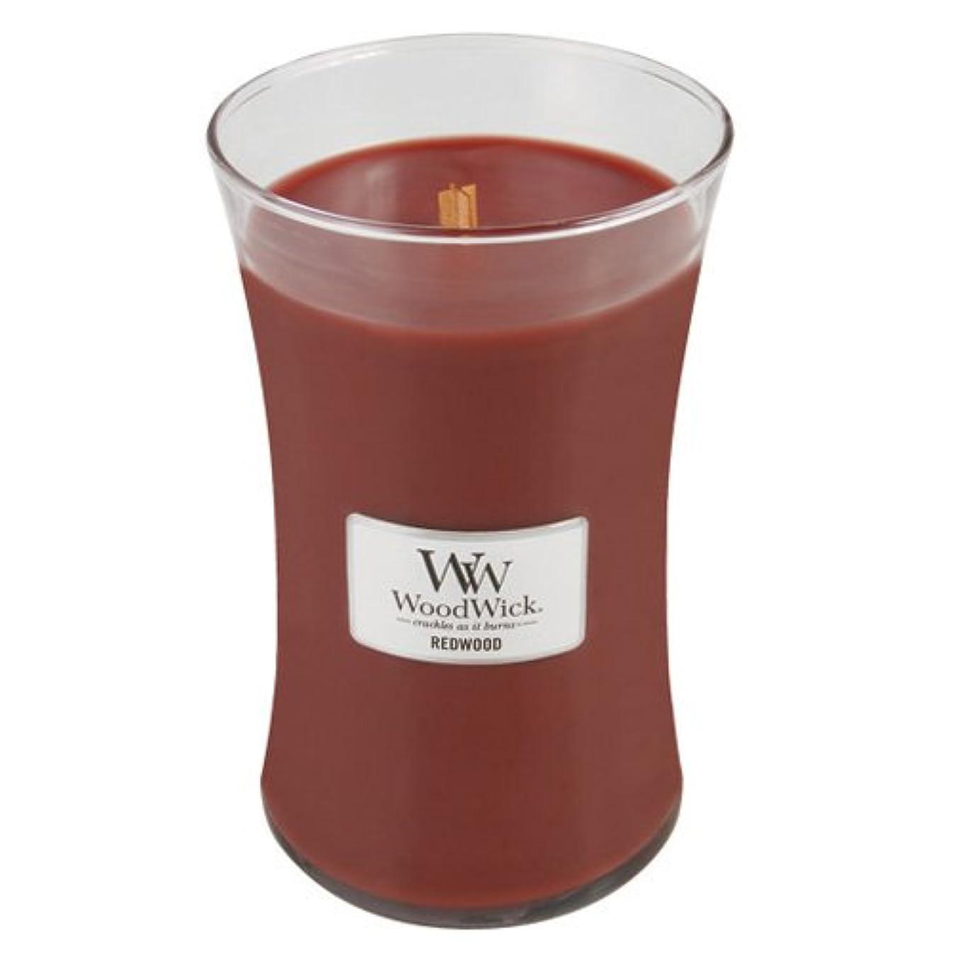 テニスアルファベットスリラー(Large Jar, Red) - Woodwick Jar Candle (Large)