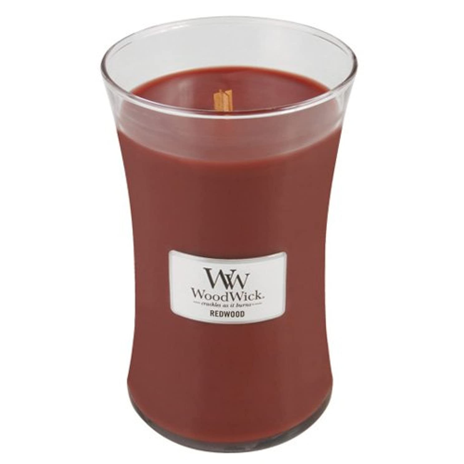 爪なぞらえる差別(Large Jar, Red) - Woodwick Jar Candle (Large)