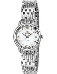 [オメガ]OMEGA 腕時計 Devil ホワイトパール文字盤 ダイヤモンド 424.10.24.60.55.001 レディース 【並行輸入品】