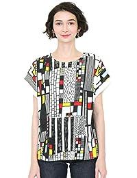 (グラニフ) graniph Tシャツ (バックボタン) コンダット (ホワイト) レディース (g14)