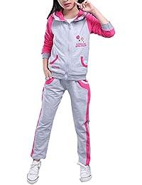 Bevalsaジャージ キッズ ジュニア 用 スポーツ ウエア 長袖 上下 セット 女の子 子供用