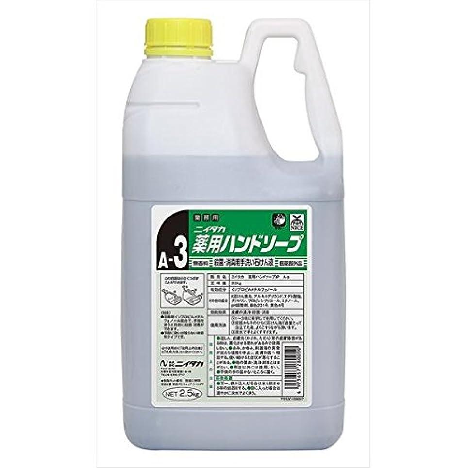 測定カカドゥ薬ニイタカ:薬用ハンドソープ(A-3) 2.5kg×6 250162