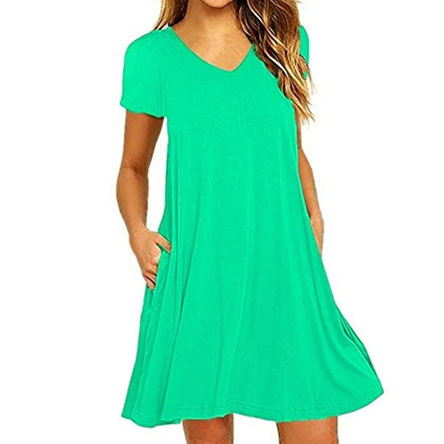 味宗教服を洗うMIFAN の女性のドレスカジュアルな不規則なドレスルースサマービーチTシャツドレス