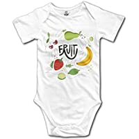 Fruit Short Sleeves Baby Bodysuits Outfits Infant Clothes Romper