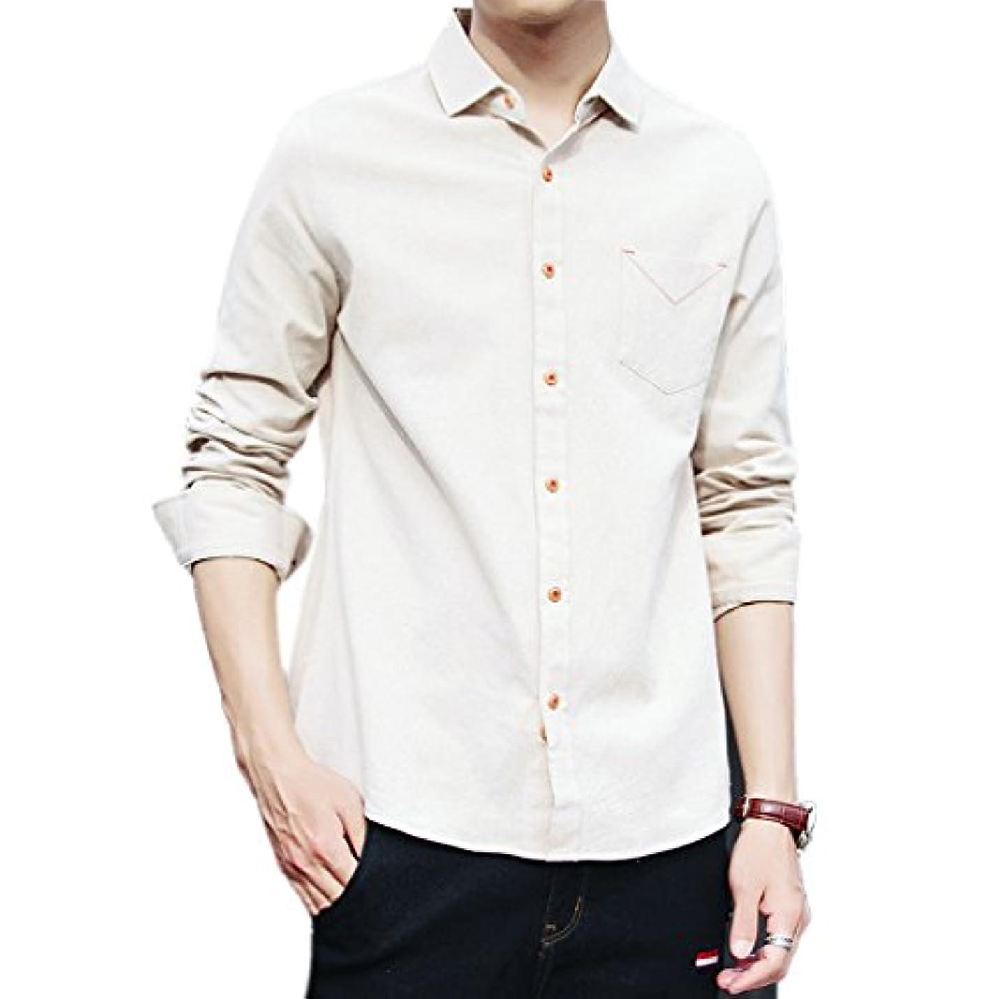 いとこウィンク平均Honghuメンズワイシャツ形態安定加工ノーアイロン耐久性も問題ないサイズもピッタリ婚冠葬祭で着れます
