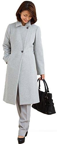[해외](스리루) Sourire 여성의 겉옷 모직 모직 코트 이탈리아 캡슐 로사 2WAY 컬러 스타일 업 롱 코트 m274171/(ス ? リ ? ル) Sourire Women`s outerwool wool coat Italian made capsule · Rossa 2WAY color style up long coat m274171