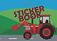 Sticker Book: A great sticker booklet to stick on your favourite stickers