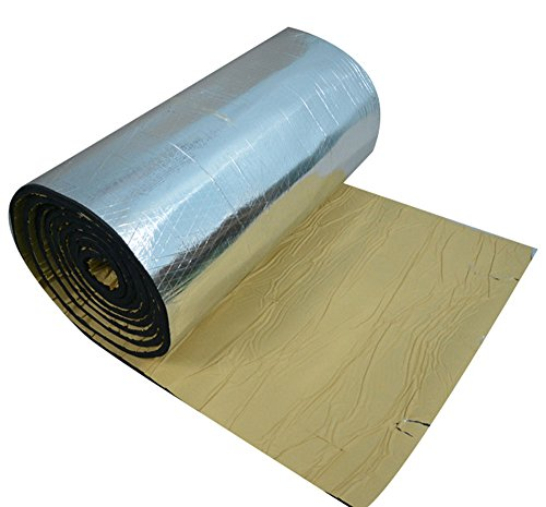 TMKSK 配管 防音パイプ吸音 バスルーム、キッチン、下水道など用防音材 W 35cm×L 100cm 厚み2cm 1枚入り