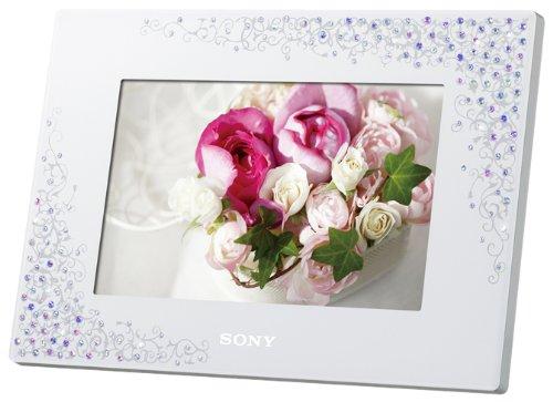ソニー SONY デジタルフォトフレーム S-Frame D720 7.0型 内蔵メモリー2GB クリスタル&ホワイト DPF-D720/WI