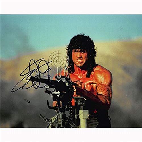 ★直筆サイン★シルヴェスター スタローン as ランボー★Sylvester Stallone as Rambo ●ランボー 最後の戦場 (2008) ●ランボー3 怒りのアフガン (1988) ●ランボー 怒りの脱出 (1985) ●ランボー (1982)