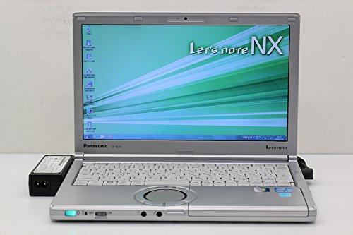 【中古】 Panasonic CF-NX1GDHYS Core i5 2540M 2.6GHz/4GB/250GB/12.1W/WXGA++(1600x900)/Win7