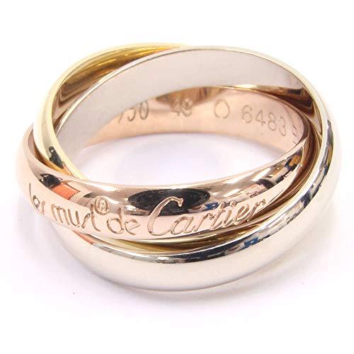 Cartier(カルティエ) リング トリニティ YG WG PG イエローゴールド ホワイトゴールド ピンクゴールド サイズ49 9号 中古 指輪 3連 スリーカラー Cartier [並行輸入品]