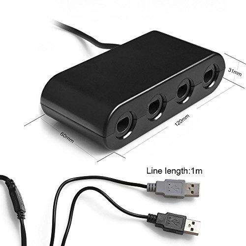 Kabalo GameCube GC / WaveBird to Wii U & PC USB Co...