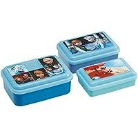 スケーター ふわっと盛れる シール 保存容器 3Pセット アナと雪の女王 ファイナルフレーム ディズニー SLUS3