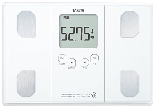 RoomClip商品情報 - タニタ 体重・体組成計 インナースキャン50 パールホワイト BC-314-WH