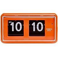 TWEMCO トゥエンコ QT-30 インテリアクロック オレンジ [クロノワールド chronoworld]