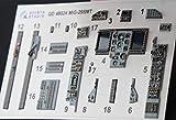 クインタスタジオ 1/48 MiG-29SMT 内装3Dデカール (グレートウォール用) プラモデル用デカール QNTD48024