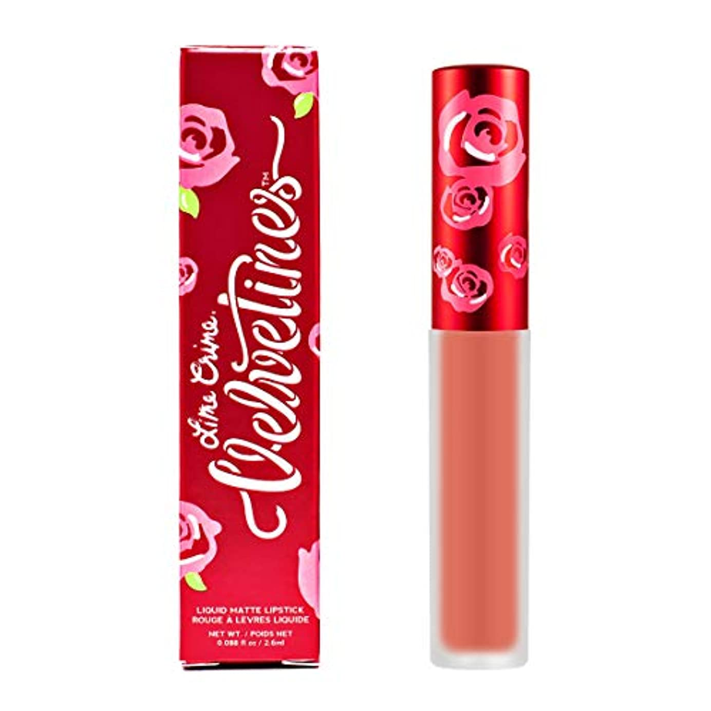 ジョットディボンドンブレーススイス人Lime Crime Velvetines Matte Liquid Lipstick - Desire 2.6ml