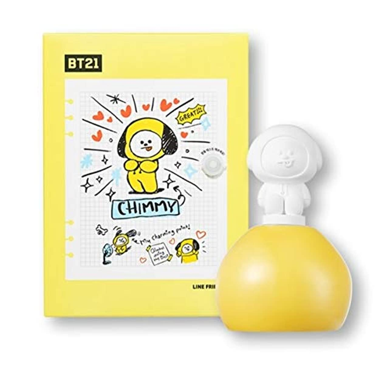 保護安らぎれるBT21 CHIMMY アロマディフューザー 柚子レモンの香り 芳香剤 防弾少年団 BTS チミー オリーブヤング