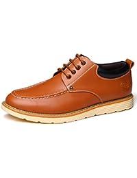 ビジネスシューズ メンズ NEOKER レザーシューズ 紳士靴 革靴 本革 ウイングチップ 外羽根 通気性 ブラック 紳士靴 フォーマル オフィス スーツ 蒸れない 防水 ファンクション レザー シューズ