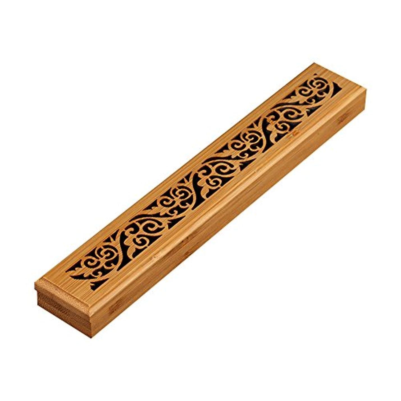 に沿って対応傷跡cheerfullus 2層木製お香ボックスお香スティックバーナーケースストレージボックス cheerfullus-234
