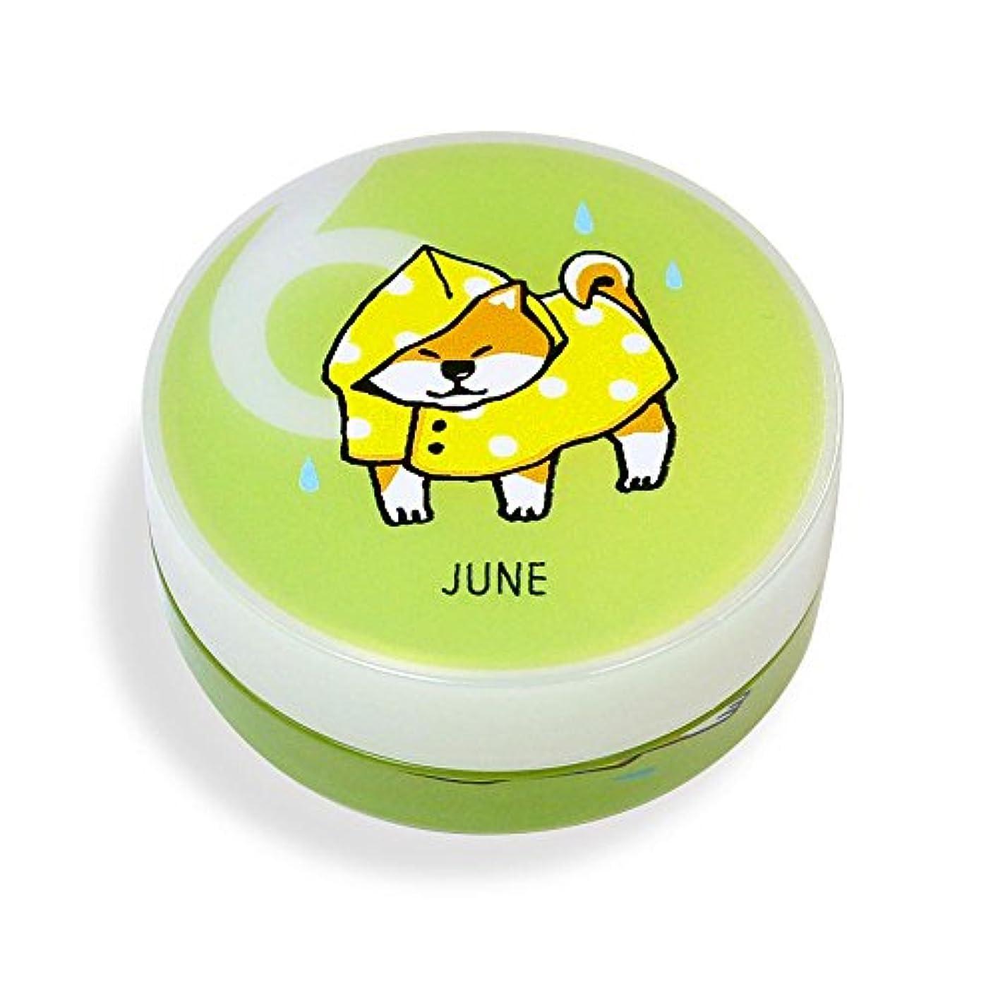 柔和サイドボード取り付けしばんばん フルプルクリーム 誕生月シリーズ 6月 20g