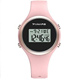 7ac0545cb5 Amazon.co.jp: LEDライト と クロノグラフ - レディース腕時計: 腕時計