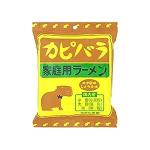 小笠原製粉 カピバララーメン(ゆず風味しょうゆ味) 90g