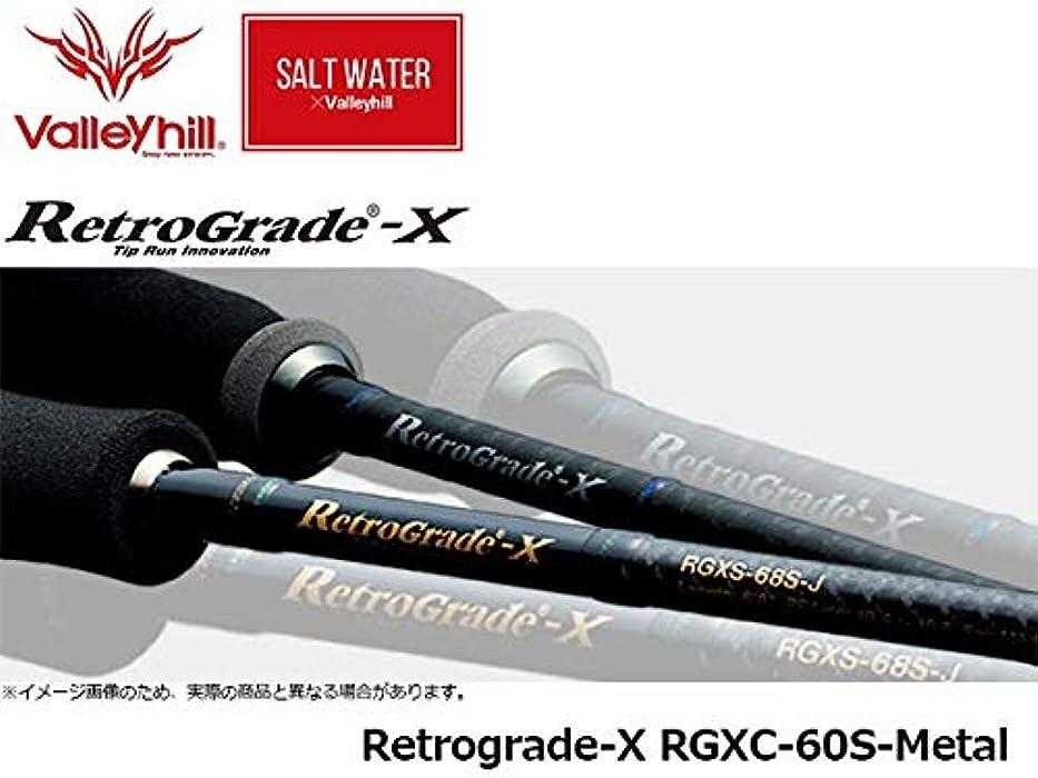 パンダ土器介入するバレーヒル(ValleyHill) レトログラードX 60S-Metal 41865