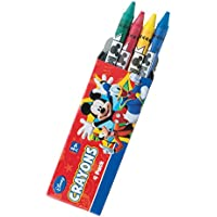 Mickey and Friends 4 -パッククレヨン – 賞品景品にぴったり – 48 Perパック