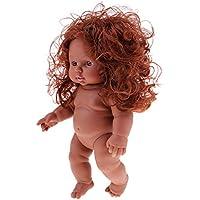 perfk 赤ちゃん人形 抱き人形 妊娠 育児 ベビー ケア トレーニング モデル ヌードボディ 30cm新生児 赤ちゃんドール 3カラー選択 - #1
