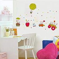 Onlymygodステッカー幼稚園教室かわいい動物ステッカー子供部屋寝室ステッカー58×47センチ