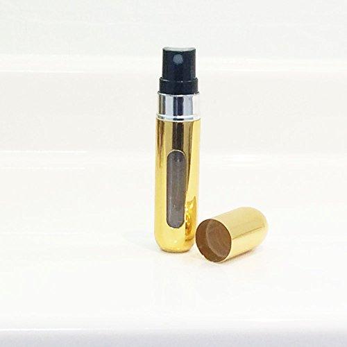 クイックアトマイザー シャイニーゴールド 香水詰め替え容器 ポンプ式