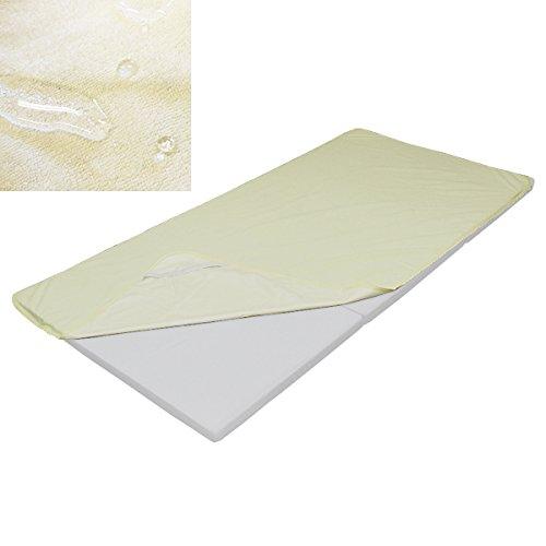 防水シーツ (ライトクリーム, シングル (100×210 ) 介護 敷きパッド シングル セミダブル ダブル クイーン...