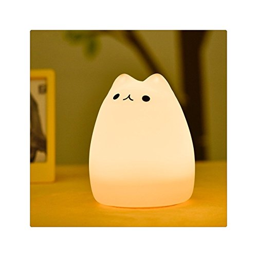 BestTrendy LEDライト ベッドサイドランプ ナイトライト ランプ 猫型 雰囲気作り