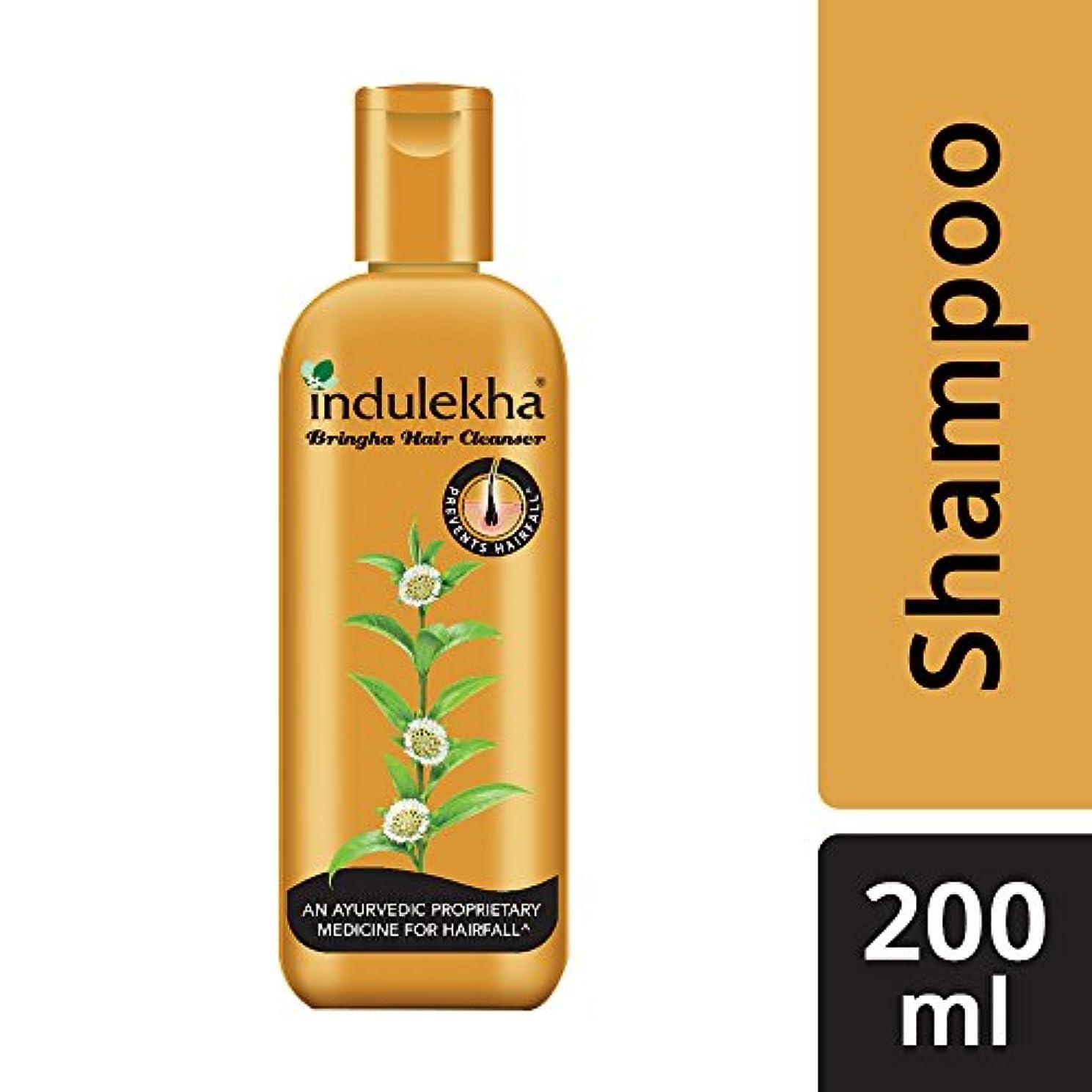 マングルスイッチ体細胞Indulekha Bringha Anti Hair Fall Shampoo (Hair Cleanser) 200ml, 6.76 oz - 並行輸入品 - イニディカ?ブリンガアンチヘアフォールシャンプー(ヘアクレンザー...