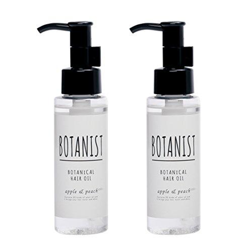 【2本セット】BOTANIST ボタニカルヘアオイル(モイスト)80mlx2本