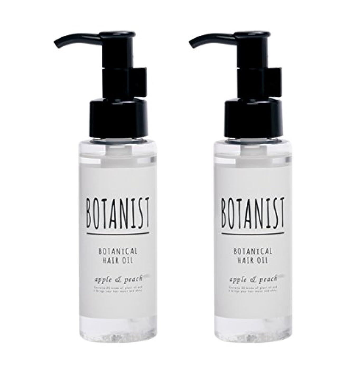 反抗流星パドル【2本セット】BOTANIST ボタニカルヘアオイル(モイスト)80mlx2本