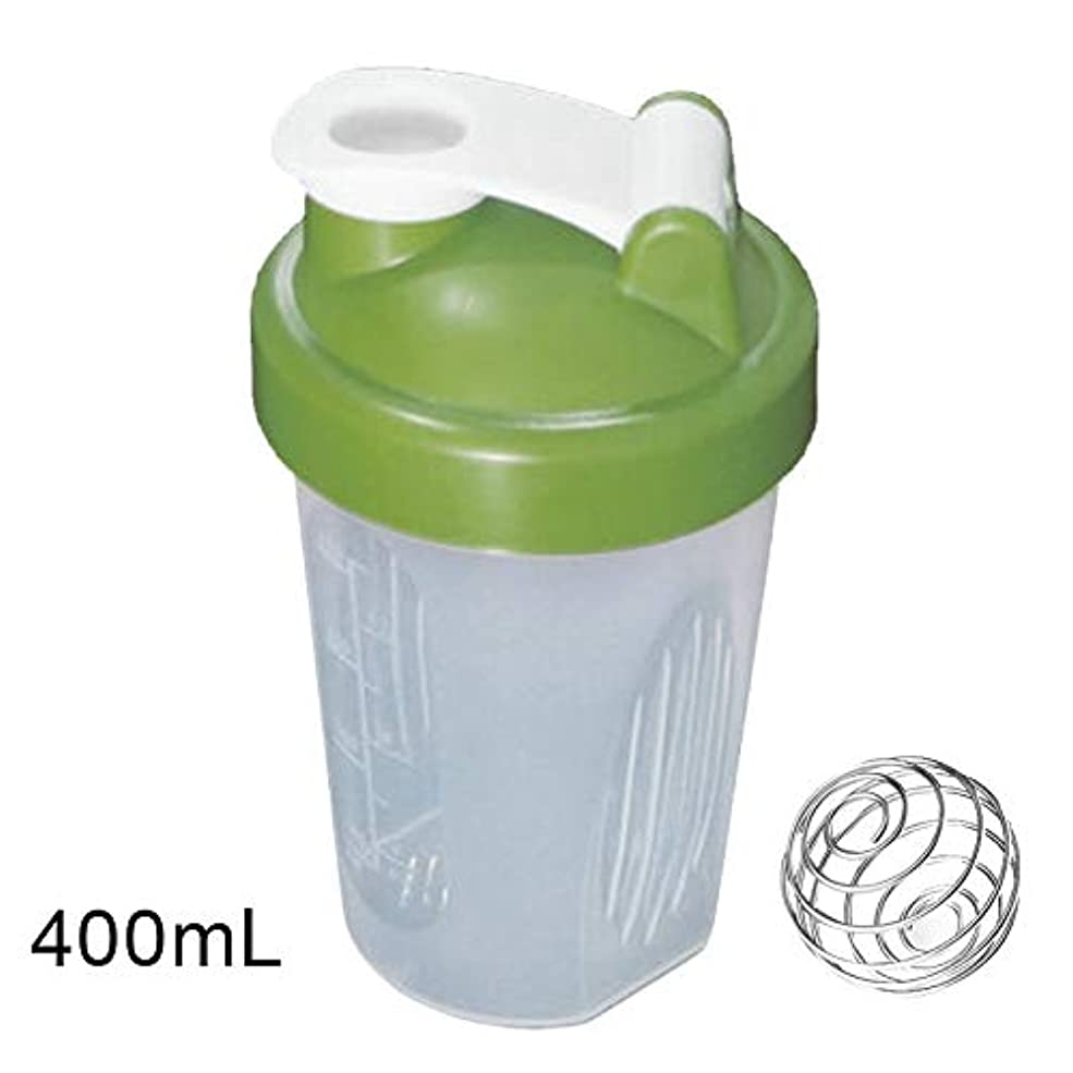 逃げるメッセンジャーハンマーARTYGYD 400 / 600ml蛋白質の粉の混合のコップは感動的な球が付いている漏出防止の振動ボトルを密封しました