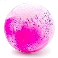 KAIDILA マッサージボール弾力のあるボールヨガボール疲労緩和ボールリラックスボール,スタイル 2-ピンク,73cm