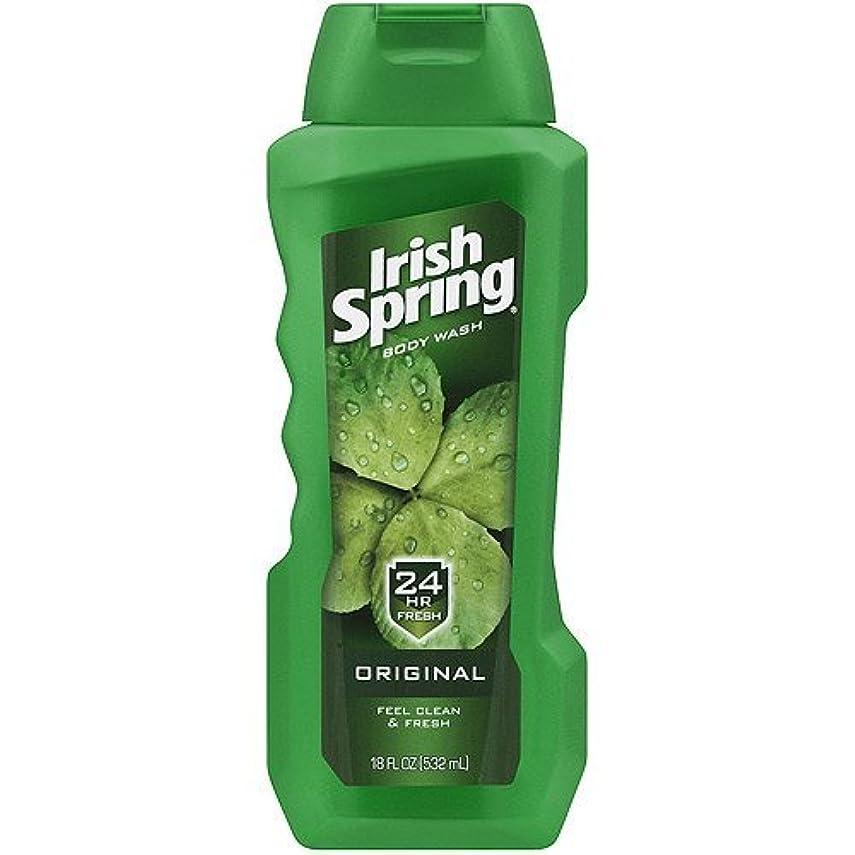 トロリー学部長パラダイスIrish Spring Body Wash, Original, 18oz by Irish Spring [並行輸入品]