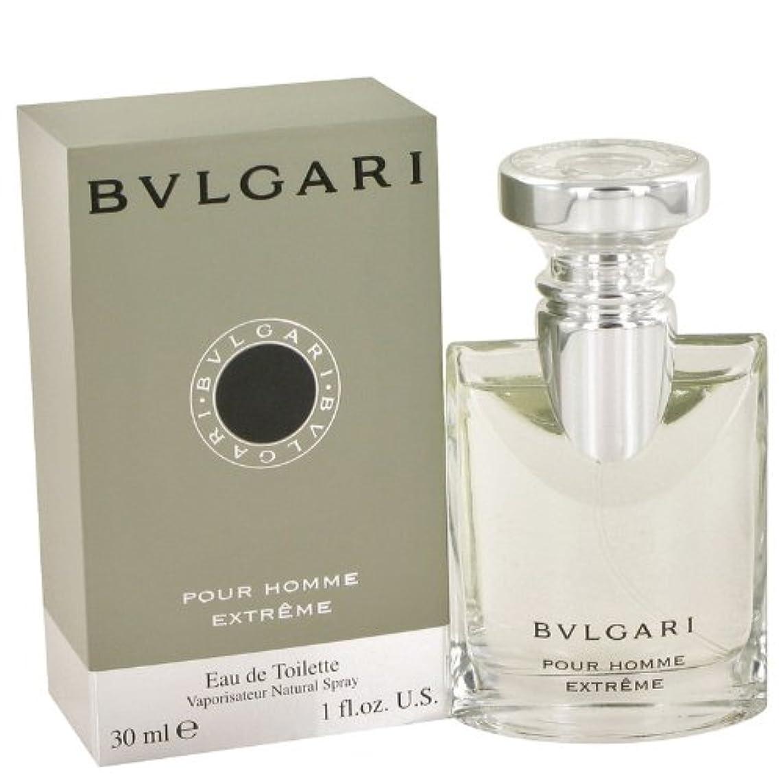 なめらか膨らませる嬉しいですブルガリ プールオム エクストレーム オードトワレ EDT 30mL 香水